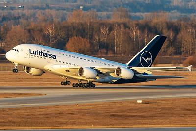 Lufthansa / A380 / D-AIMD