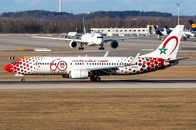 Royal Air Maroc / Boeing 737-800 / CN-RGV / 60 Years RAM