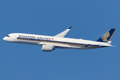 Singapore Airlines / Airbus A350-900 / 9V-SMN
