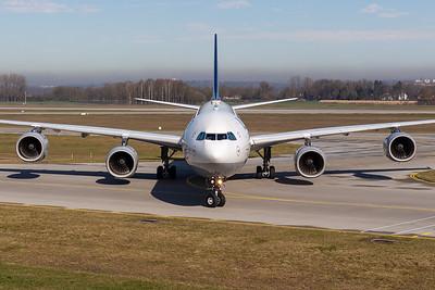 Lufthansa / A340-600 / D-AIHF