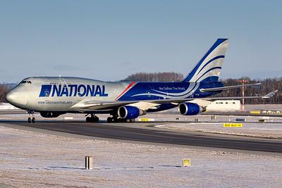 National AIrlines / Boeing 747 / N919CA