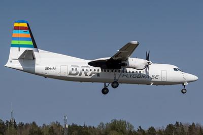 Braathens / Fokker 50 / SE-MFR