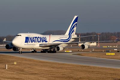 National AIrlines / Boeing 747 / N756CA