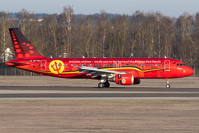 Brussels Airlines / A320 / OO-SNA / Red Devil