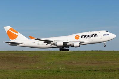 Magma / Boeing 747-400 / TF-AMI