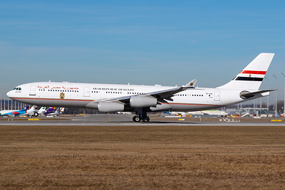 Egypt Governmant / Airbus A342 / SU-GGG