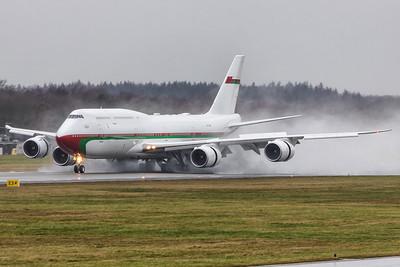 Oman Gouvernment / Boeing 747-8 / A4O-HMS