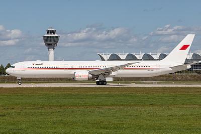 Bahrain Gouvernment / Boeing 767-400 / A9C-HMH