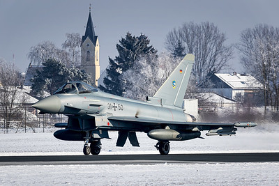Germany Air Force / Eurofighter / 31+50