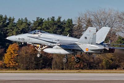 Spain Air Force / F-18 / 15-75