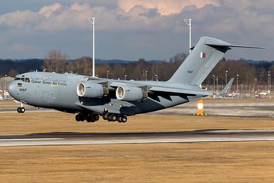 Qatar Emiri Air Force / C-17 / MAP