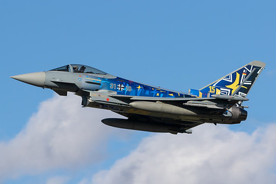 Germany Air Force / Eurofighter Typhoon / 31+18 / Carbon Warrior