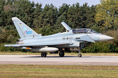 Germany Air Force / Eurofighter / 98+03