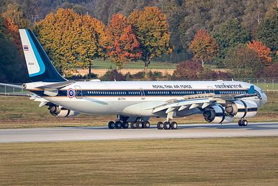 Royal Thai Air Force / Airbus A340-500 / HS-TYV