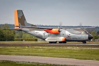 German AIr Force / C160 Transall / 50+40 / Goodbye Tour