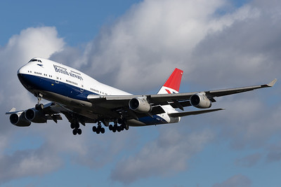 British Airways / Boeing 747-400 / G-CIVB / Negus-Retro