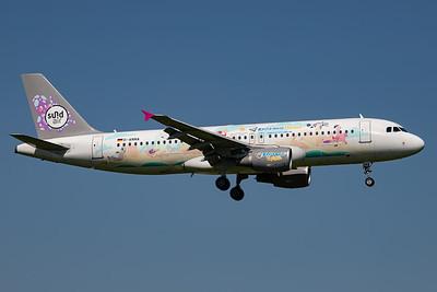 Sundair / AIrbus A320 / D-ANNA / Katta macht Urlaub