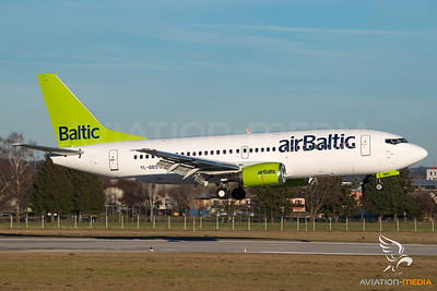 Air Baltic / B737-300 / YL-BBS