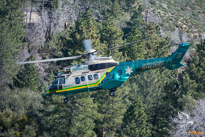Los Angeles County Sheriff / AS332 / N952JH