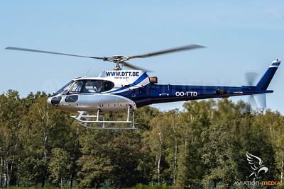 Heli Service Belgium / AS350 / OO-TTD
