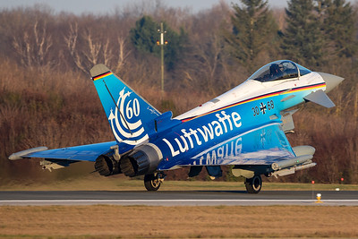 Germany Air Force / Eurofighter / 30+68 / 60 Years Luftwaffe