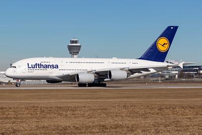 Lufthansa / A380 / D-AIME