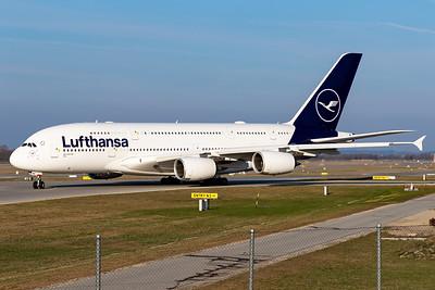Lufthansa / Airbus A380 / D-AIMG
