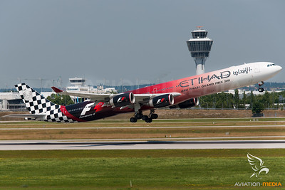 Etihad A340-600 A6-EHJ