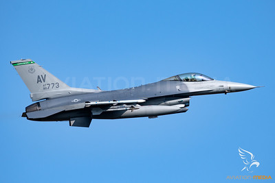 US Air Force, F16, AF90773