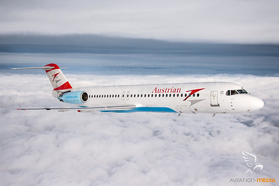 Austrian Airlines F100 OE-LVE