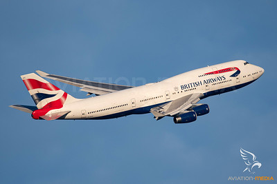 British Airways B747-400 G-CIVV