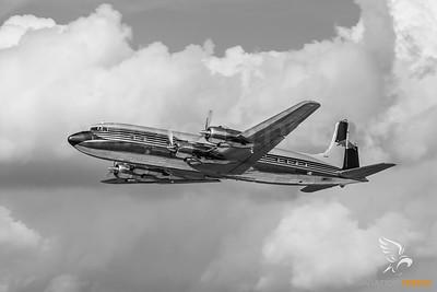 N996DM DC-6 The flying bulls