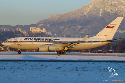 Domodedovo Airlines IL96 - Salzburg