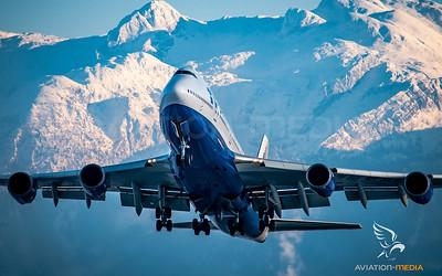 Transaero /  B747-400 / EI-XLB