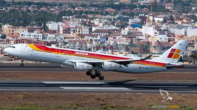 Iberia A340 - Tenerife Norte