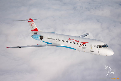 Austrian Airlines / F100 / OE-LVE