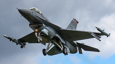 US Air Force - 480th FS / F-16CM Fighting Falcon / 90-0813