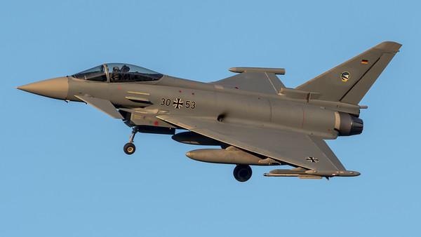 Luftwaffe TLG 74 / Eurofighter Typhoon / 30+53
