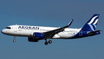 Aegean Airlines / Airbus A320NEO / SX-NEB
