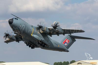 "Airbus Defence / A400M  / EC-400 / ""RAF 100"""
