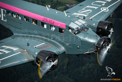"Ju-Air / Junkers Ju 52/​3m g4e / HB-HOT / ""Hülse Bier"""