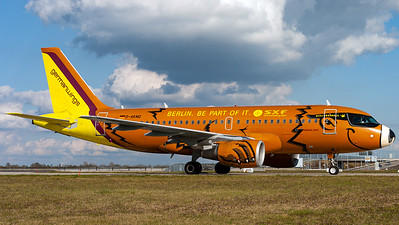 "Germanwings / A319-100 / D-AKNO / ""BerlinBearBus"""