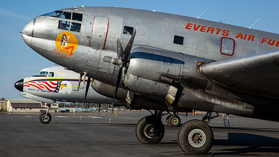 "Everts Air Fuel ""Salmon Ella"" / C-46F Commando / N1822M"
