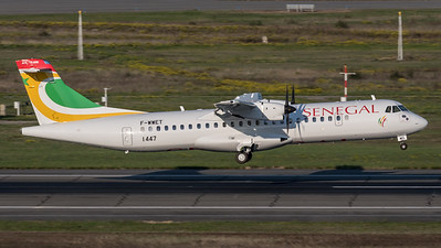 Air Senegal / ATR 72-600 / F-WWET (to be  6V-AMS)