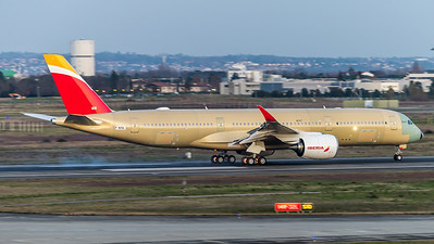 Iberia / Airbus A350-941 / F-WZGL (to be EC-NIG)