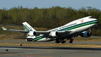 Evergreen International / B747-400(BDSF) / N493EV