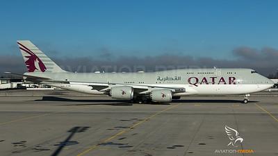 Qatar Amiri Flight / B747-8BBJ / A7-HHE