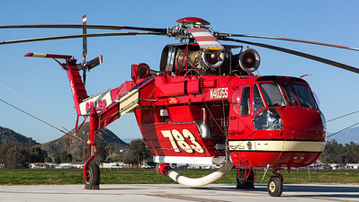 Siller Helicopters / Sikorsky S-64E Sky Crane / N4035S