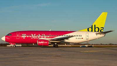 """Deutsche BA / B737-300 / D-ADIC / """"T-Mobile"""""""