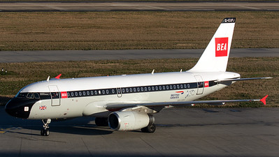 "British Airways / A319-100 / G-EUPJ / ""BEA Retro"""